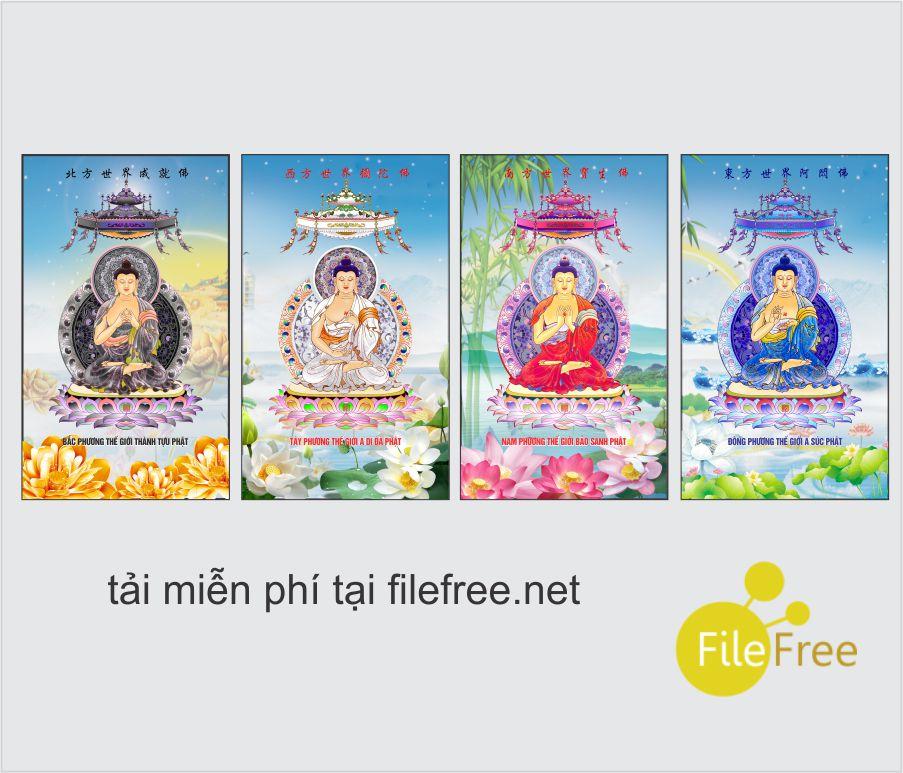 Tải file ảnh tứ phương Phật