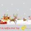 Chia sẻ decal dán kính Giáng Sinh