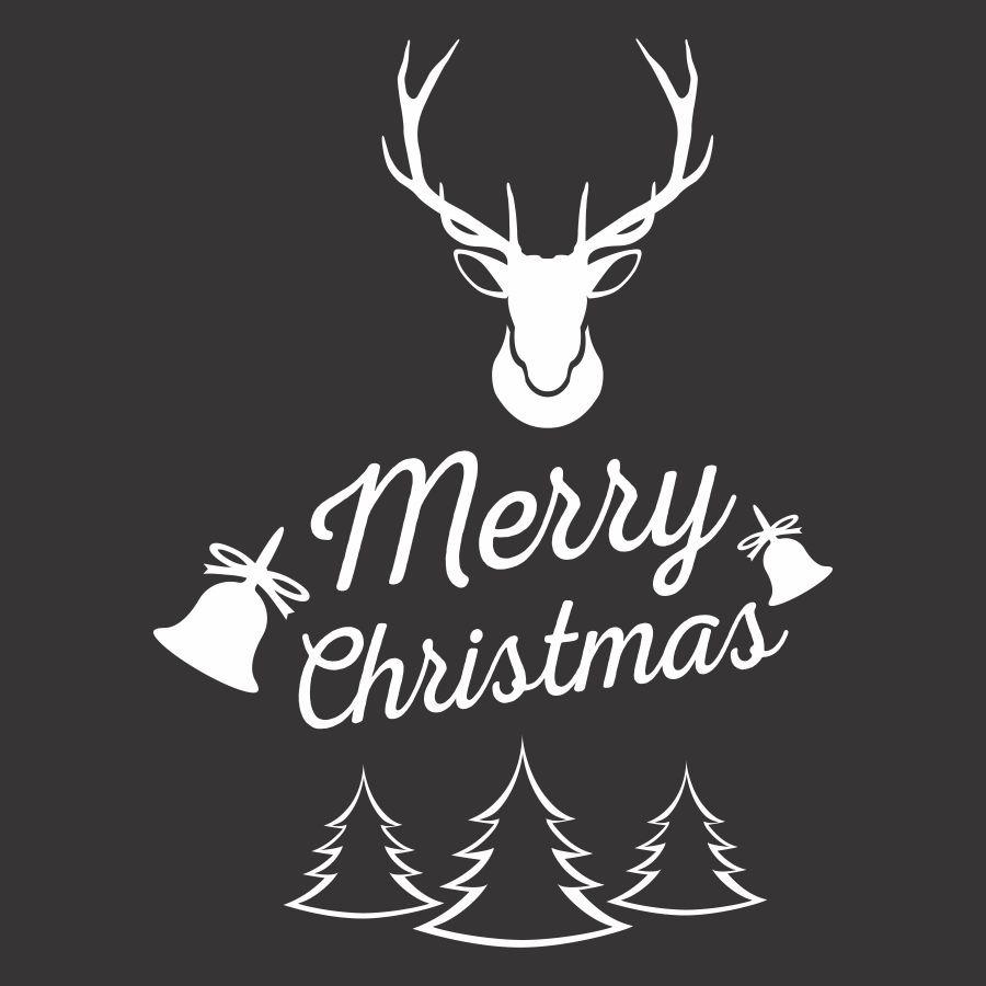 File cắt decal trang trí cửa kính mùa giáng sinh // ảnh 2
