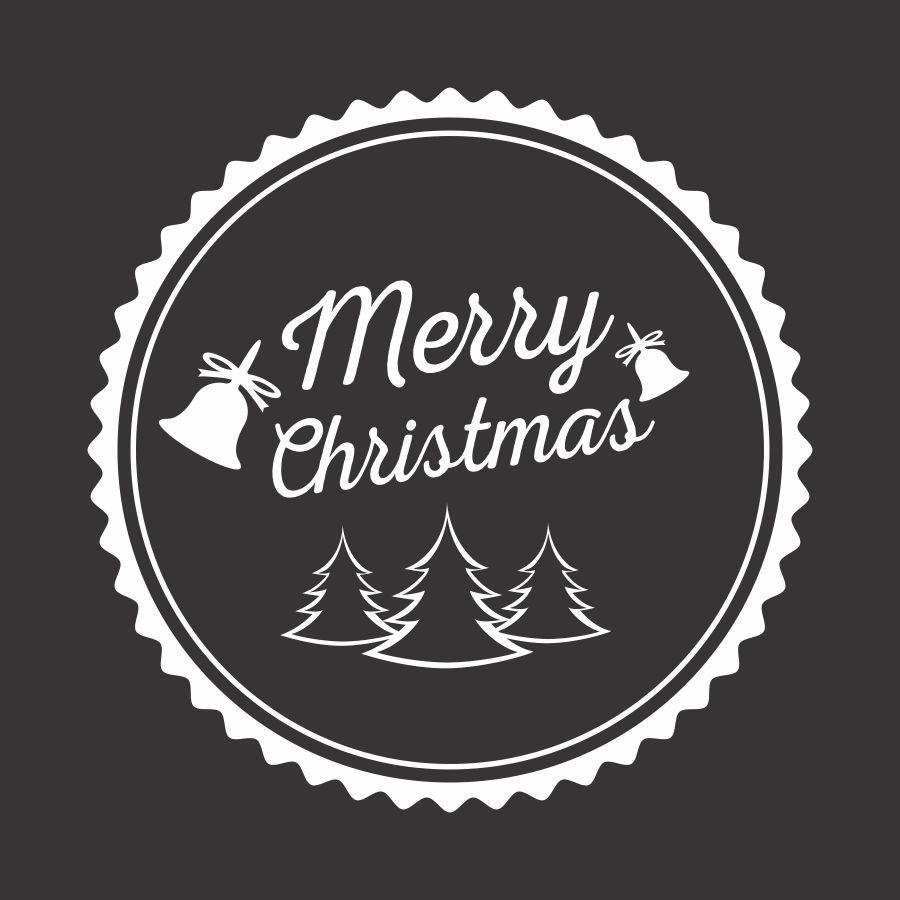 File cắt decal trang trí cửa kính mùa giáng sinh // ảnh 4
