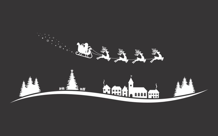 File cắt decal trang trí cửa kính mùa giáng sinh // ảnh 5