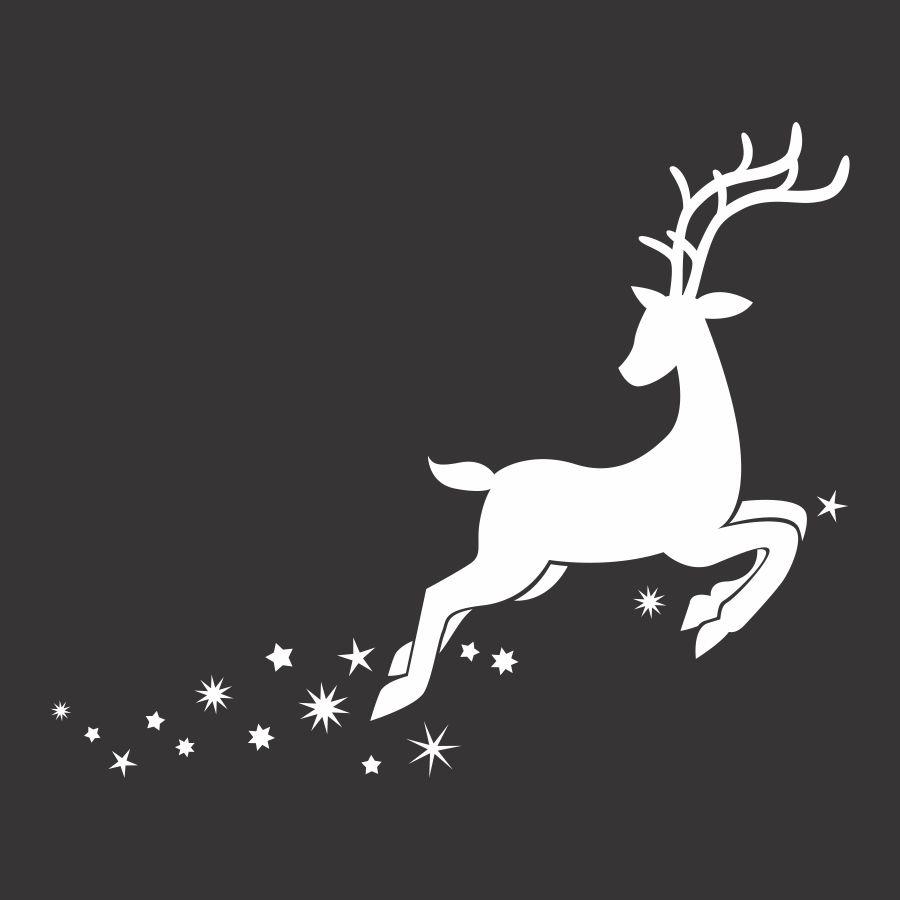 File cắt decal trang trí cửa kính mùa giáng sinh // ảnh 6