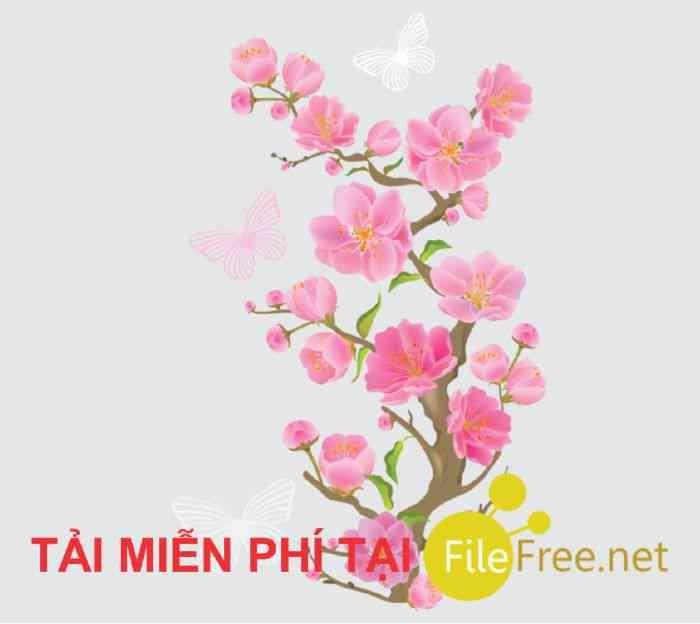 Ảnh hoa đào hoa mai png // ảnh 8