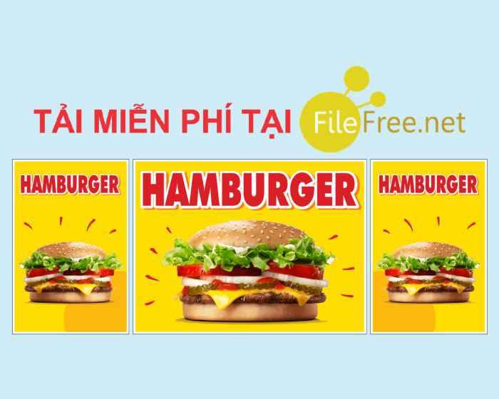 Thiết kế xe hamburger file corel vector tải miễn phí