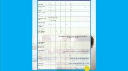Lịch tiêm chủng cho bé file vector corel tải miễn phí