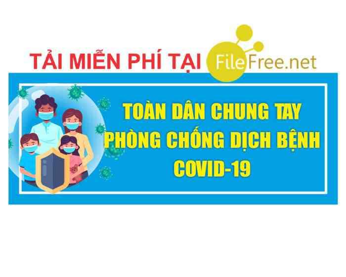 TOÀN DÂN CHUNG TAY PHÒNG CHỐNG DỊCH COVID-19 – CRD 12