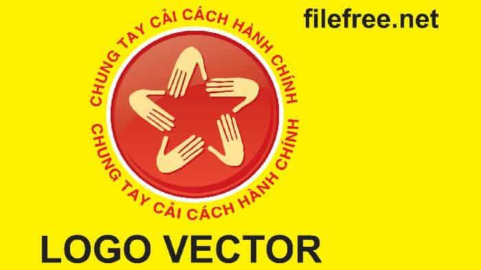LOGO CẢI CÁCH HÀNH CHÍNH VECTOR