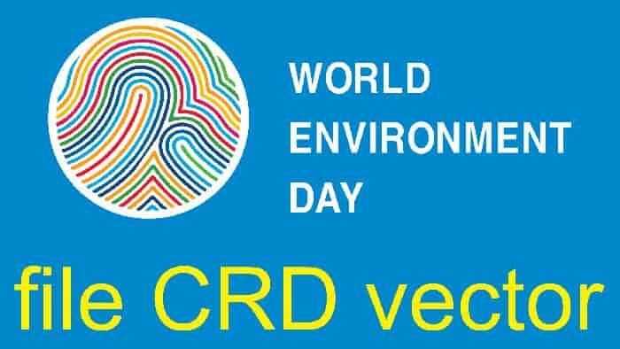 Logo WEP VECTOR - ngày môi trương thế giới vector