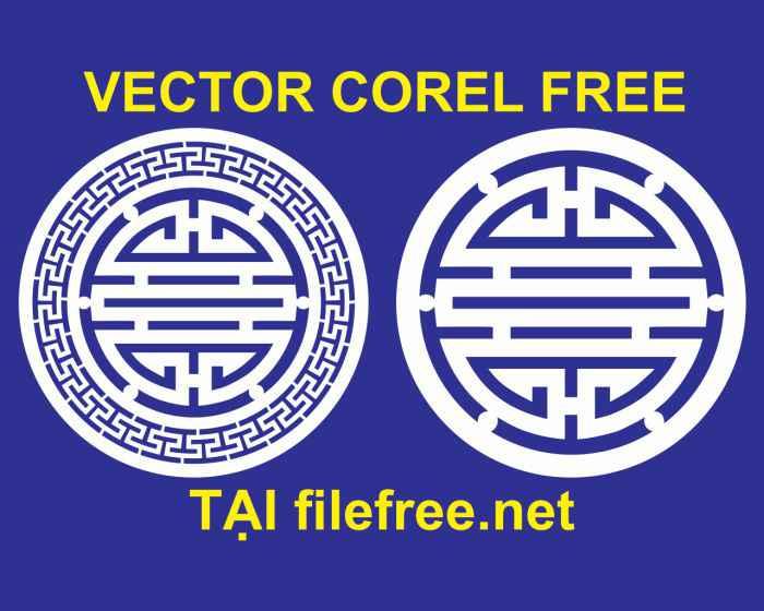 Vector chữ thọ free (tiếng Trung)